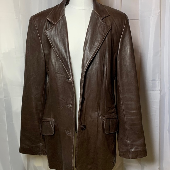 Danier Jackets & Blazers - Buttery soft genuine leather blazer